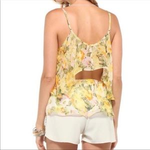 Lovers + Friends   Revolve NWT Floral Top